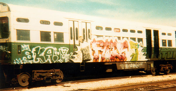 Trixter, Graffiti - 1986
