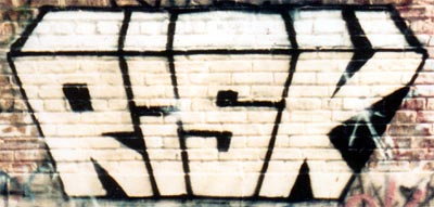 Risk, Graffiti - 1986